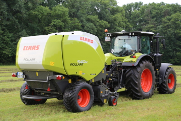 Claas: Rollant 540 RC