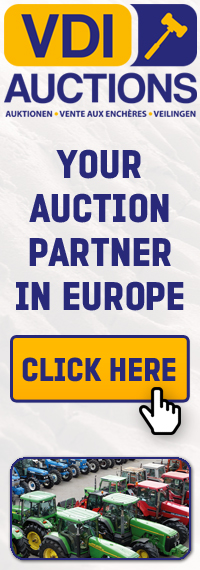VDI Auctions is active on the worldwide auction market