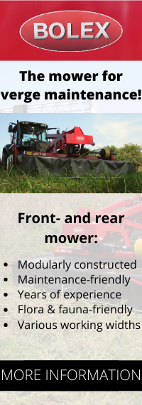 Bolex 3-point mounted roadside verge mowers for sale, available in several working widths !