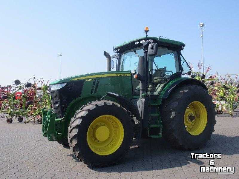 john deere 7280 r traktor tractor gebrauchte schlepper. Black Bedroom Furniture Sets. Home Design Ideas