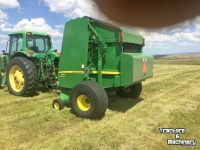 Pressen John Deere 569 MEGA WIDE TWINE SURFACE BALER CO USA