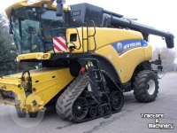 Mähdrescher New Holland CR 9090 4wd Elevation SCR Tracked Combine  Raupe Mähdrescher